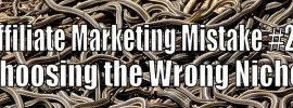 Affiliate Marketing Mistake #2