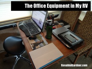 Blogging Equipment I Use in My RV Office