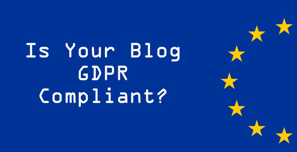 GDPR compliant blog