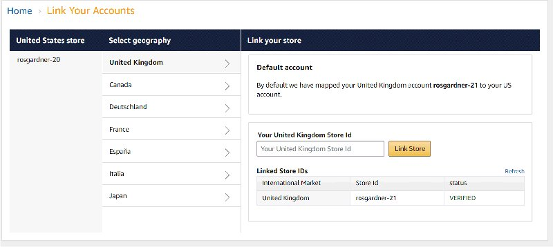 Amazon OneLink: Link Your Accounts