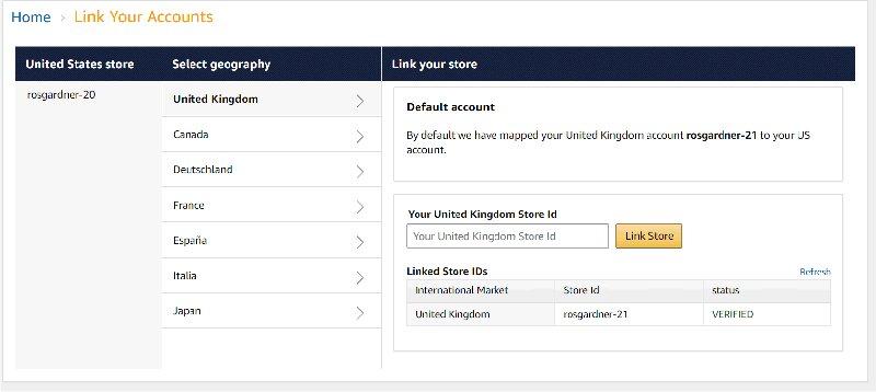 Amazon OneLink: Link Your Accounts
