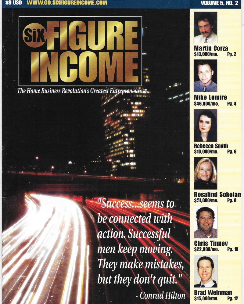Six Figure Income Magazine